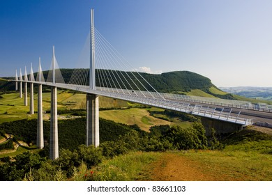 Millau Viaduct, Aveyron Deparement, France