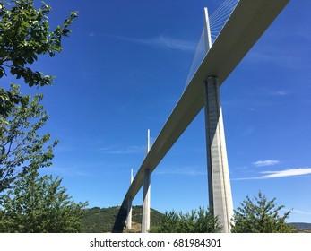 Millau viaduct, Aveyron, France