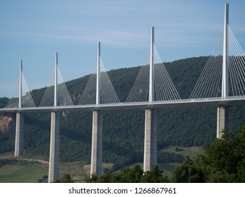 Millau Viaduct, France  The Millau Viaduct is a cable-stayed bridge that spans the valley of the River Tarn near Millau in southern France.