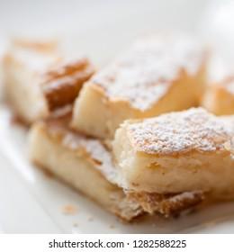 Mille feuille dessert