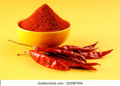 milled red chili pepper, red chilies powder