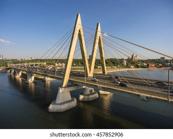 Millenium bridge in Kazan