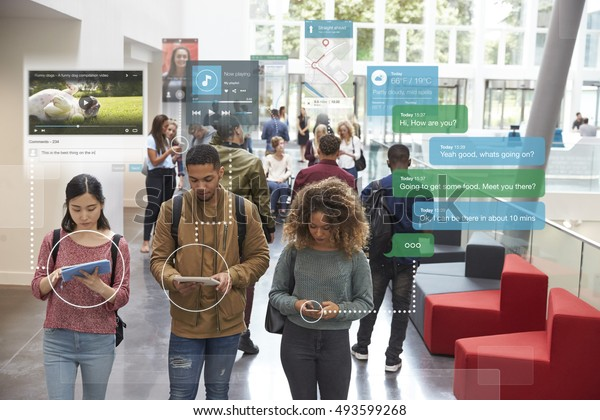 Millennials Using Social Media