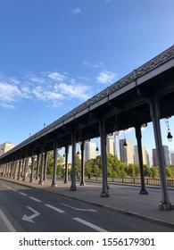 Millennium Bridge. Paris, France. Filming location of Inception.