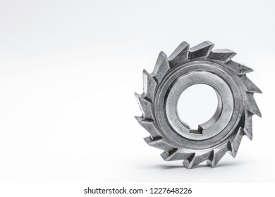 milling cutter on white background