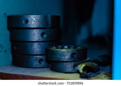 milling ring, thread