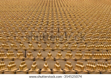 Million Golden Buddha Figurine Wat Phra Stock Photo Edit Now