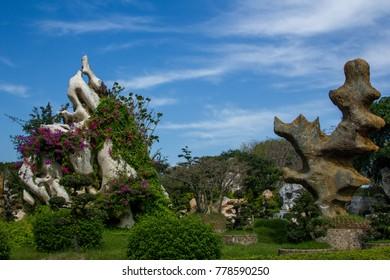 The Million Years Stone Park, Pattaya, Thailand.
