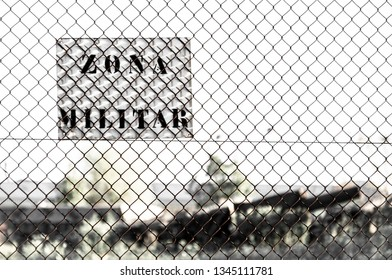 Millitary zone in someplace
