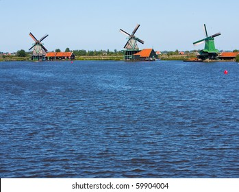 Mills in Holland, traditional and direct landmark of the country