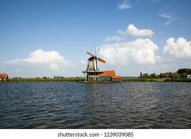 Mills of Zaandam, Netherlands