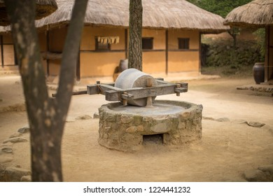 millstone  Korean Traditional