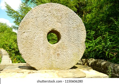 Millstones or mill stones are used for grinding