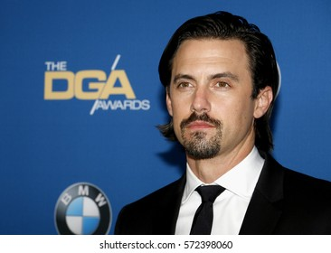 Milo Ventimiglia at the 69th Annual Directors Guild Of America Awards held at the Beverly Hilton Hotel in Beverly Hills, USA on February 4, 2017.