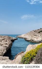 Milos Island port