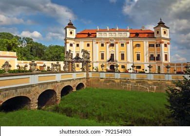 Milotice Castle, Czech Republic - State Milotice called pearl of South Moravia, is a uniquely preserved complex of baroque buildings and garden architecture.