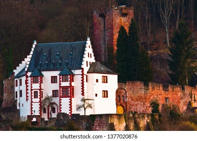 Miltenberg and the Castle Mildenburg in Germany