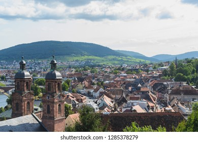 Miltenberg Cityscape from above