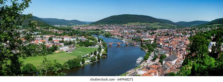 Miltenberg panorama view