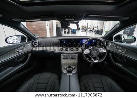 Milton Keynes England April 2018 Interior Stock Photo Edit Now