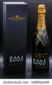 Milton Keynes / UK March Tuesday 2020 : Champagne 2008 Moet and Chandon