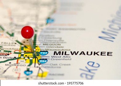 milwaukee pin on the map