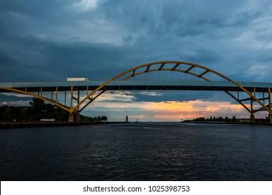 Milwaukee River Cityscape