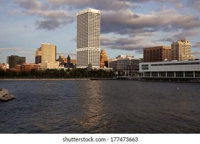 Milwaukee, Wisconsin seen from Lakefront