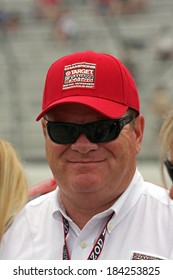MILWAUKEE, WISCONSIN, USA - JUNE 19, 2011: Chip Ganassi, owner and CEO of Chip Ganassi Racing