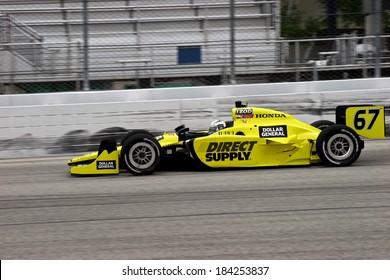 MILWAUKEE, WISCONSIN, USA - JUNE 19, 2011: No. 67 Ed Carpenter, USA, Ed Carpenter Racing