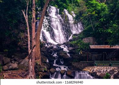 Mimbalot Falls in Iligan Falls, Mindanao, Philippines.