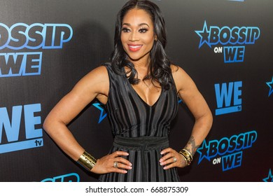 Mimi Faust arrives Gossip Best-Dressed List Awards on Tuesday, June 27th 2017 at the W Midtown's Lounge, Elevate