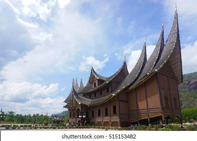 The Minagkabau House - Padang, Indonesia