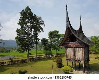 Minang Granary in West Sumatra