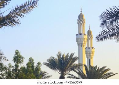 minarates of masjid jeddah