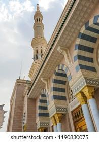 Minaret of Madinah Masjidunnabavi Phrophet's Mosque