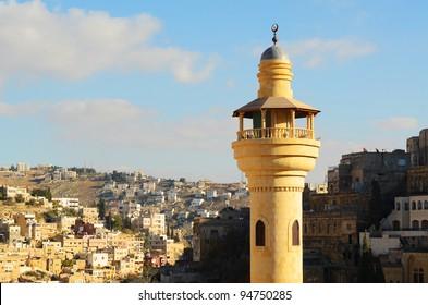 Minaret in Salt Jordan