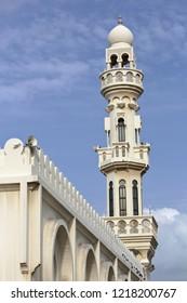 Minaret Shaikh Isa Bin Ali Mosque in Manama Bahrain