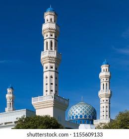 Minarets of the City Mosque, Kota Kinabalu, Sabah, Malaysia