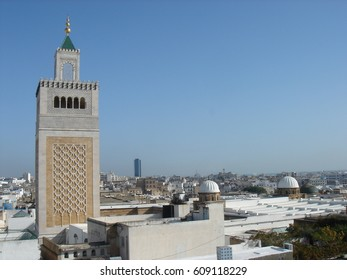 Minarets in Tunis