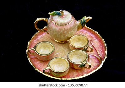 Minature Elven Tea Set