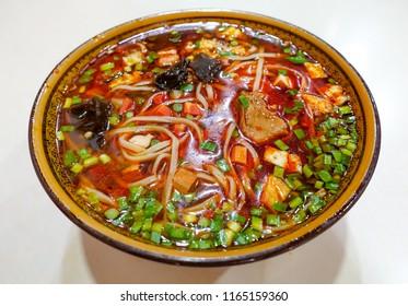 Minced beef noodles
