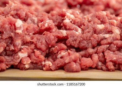 minced meat, pork, beef, forcemeat, clipping path