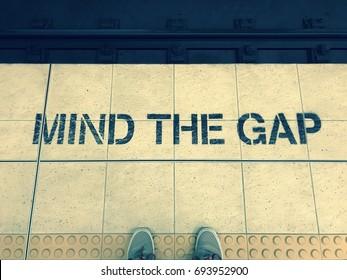 Mind the gap train