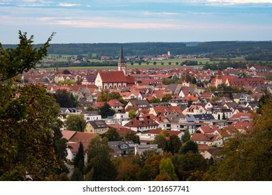 Mindelheim. Small town in the Allgäu in the south of Germany