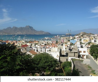 Mindelo view from hills