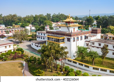 Mindrolling Monastery is a tibetan monastery located near Clement Town, in Dehradun, Uttarakhand state, India.