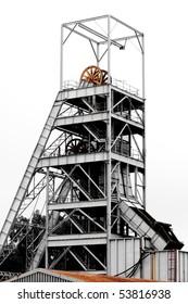 Mine Shaft on an old gold mine near Johannesburg