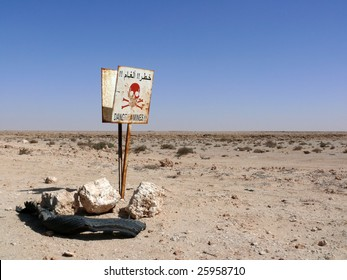 Minefield, Western Sahara
