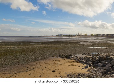 Minehead beach, Somerset, England